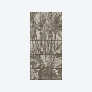 The Palm Grove Wallpaper - Patinated