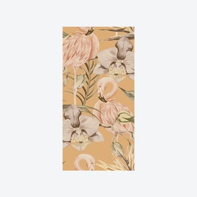 Tropical Shore (Tropical Flamingo) Wallpaper - Miami