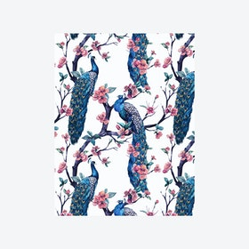 Enchanted Garden (Jungle Bird I) Wallpaper - Light