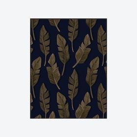 Jungle Breeze (Jungle Leaf) Wallpaper - Brown