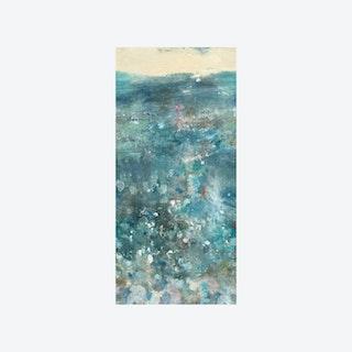 Oh La La Wallpaper - Blue