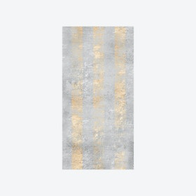 Shimmer Stripe Wallpaper - Gold