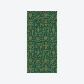 Tattoo Flash 01 Wallpaper - Green & Gold