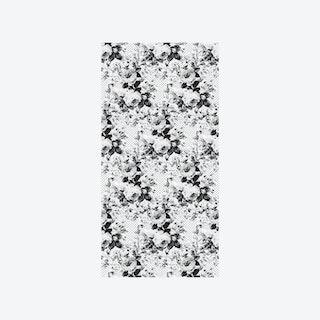 Full Bloom Wallpaper - White