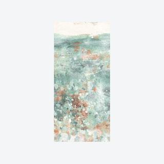 Oh La La Wallpaper - Verdigris