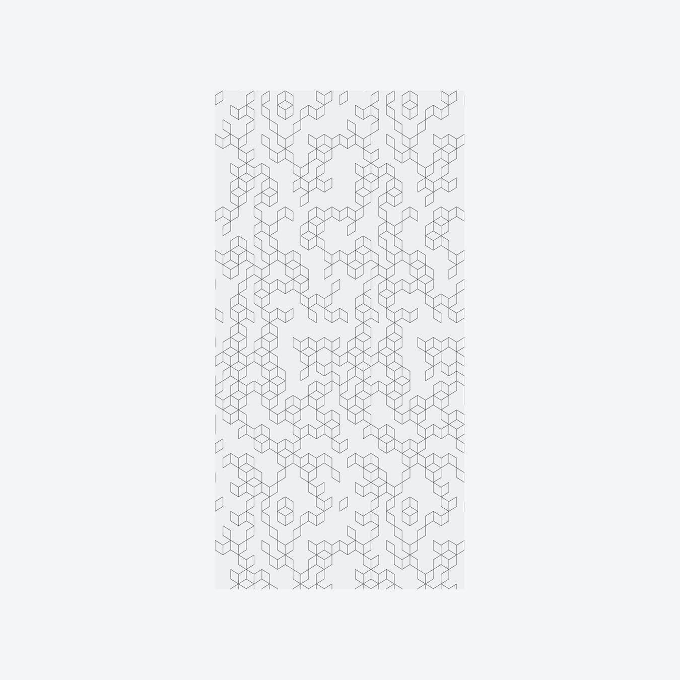 Keziah Night Wallpaper - Silver