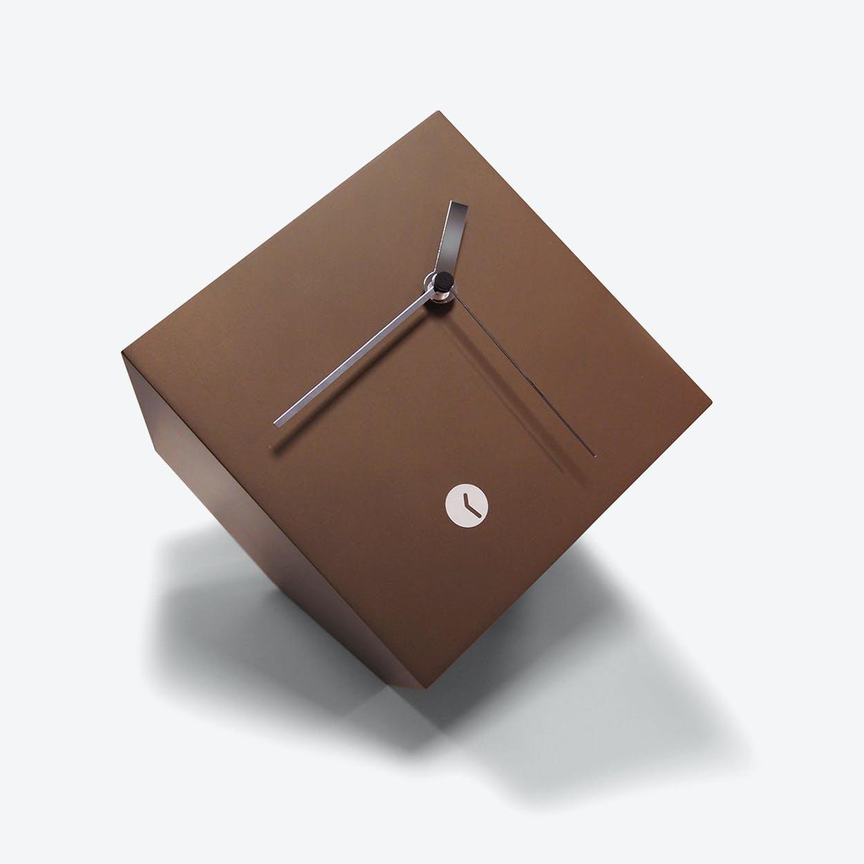 Bronze Box Clock