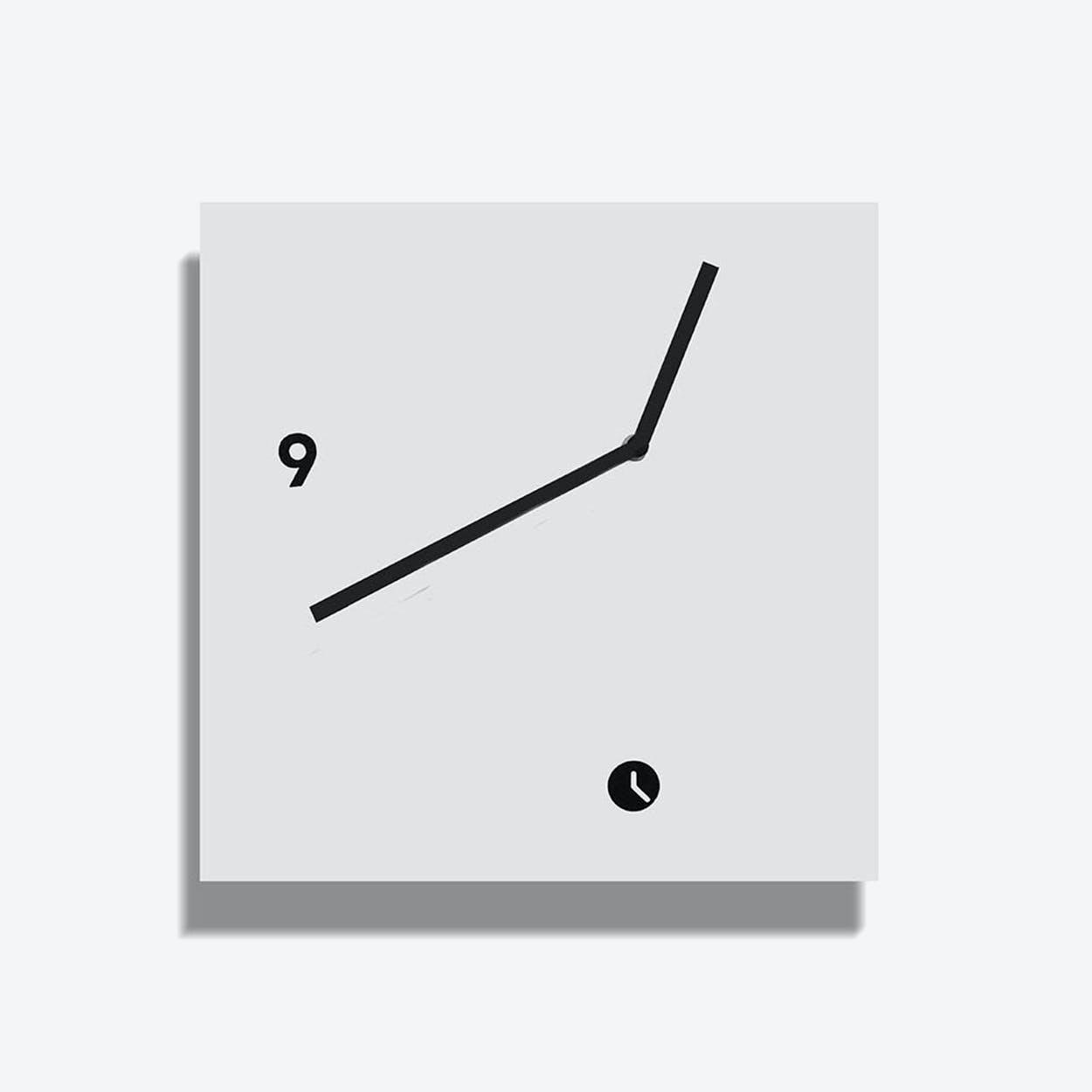 White Area Clock