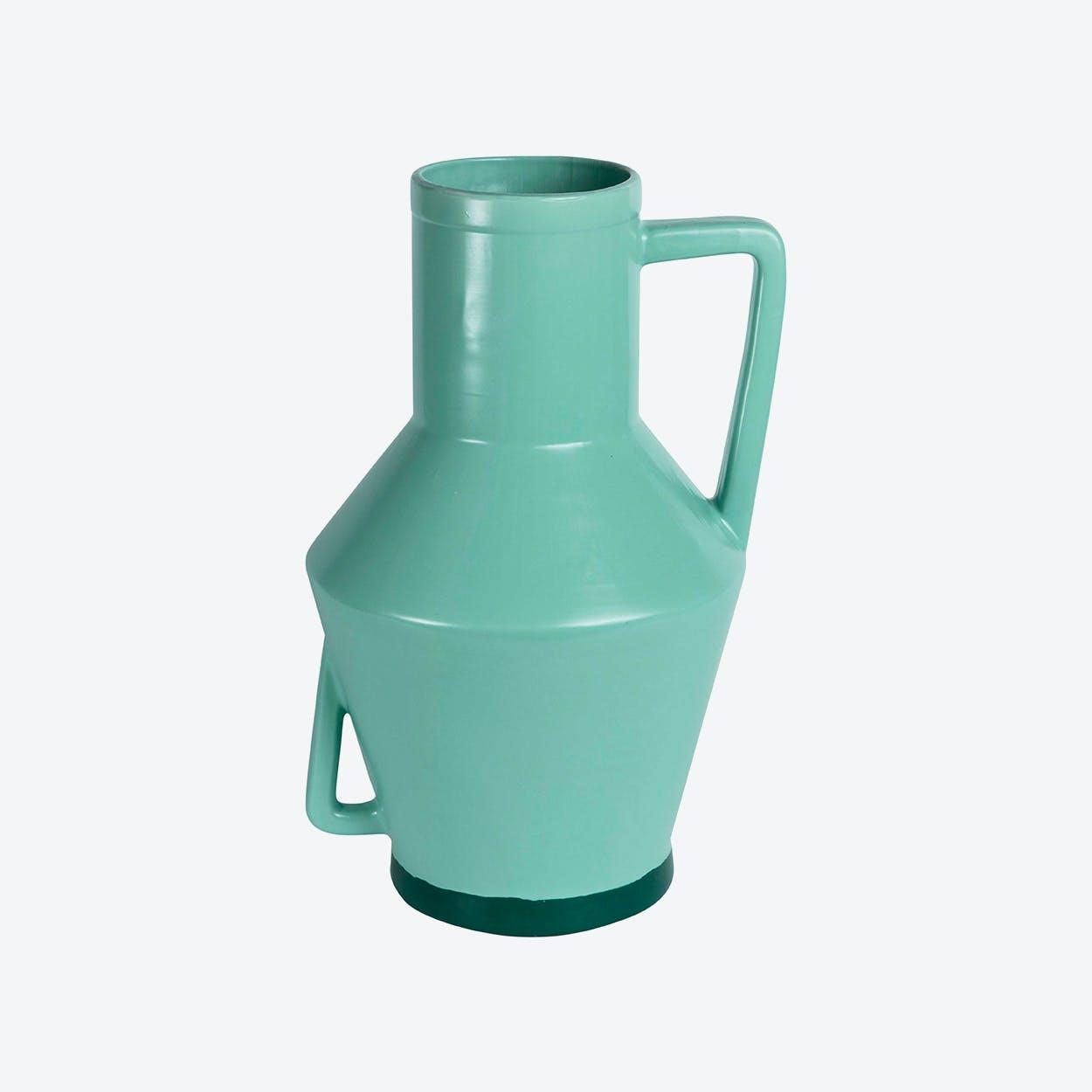 Large Green Vase