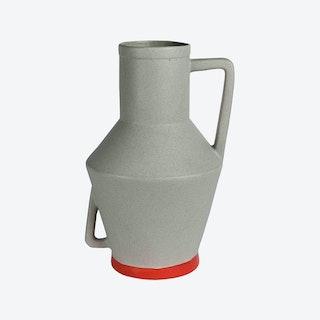 Large Beige Vase