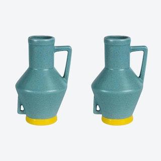 Small Light Blue Vase (set of 2)