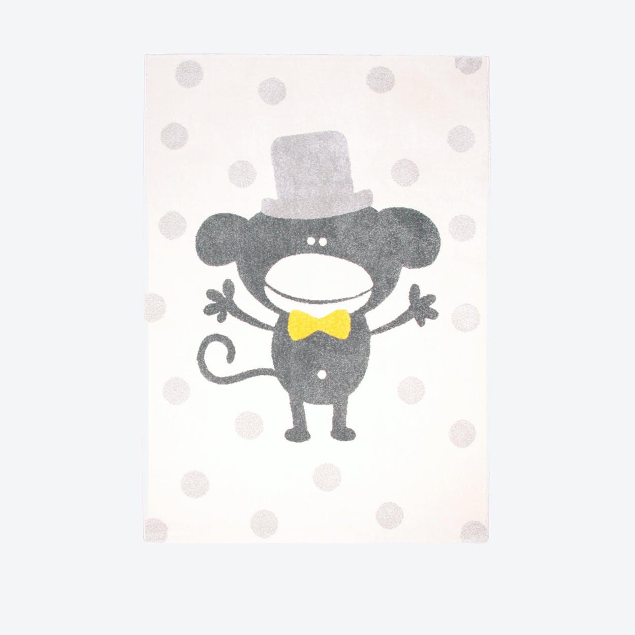 Polka Monkey Rug