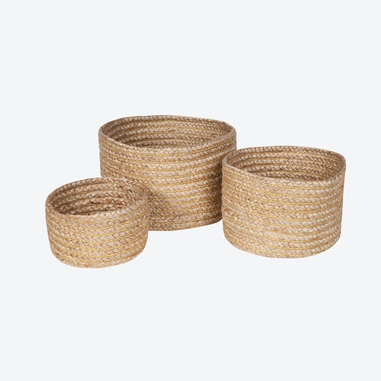 Abha Baskets - set of 3