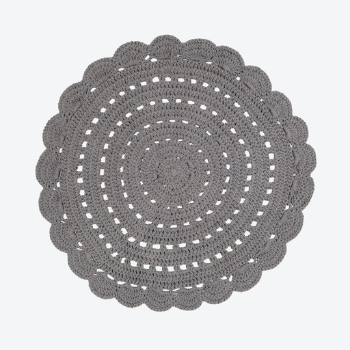 Dark Grey Alma Rug