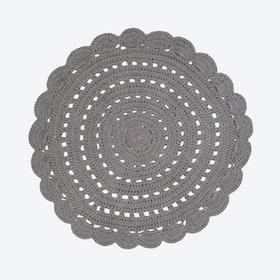 Dark Grey Alma Rug