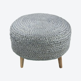 Grey Aslesha Stool