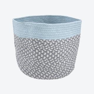 Light Blue Brenda Storage Basket