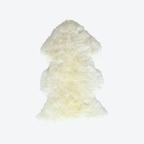 White Douchka Lambskin Rug