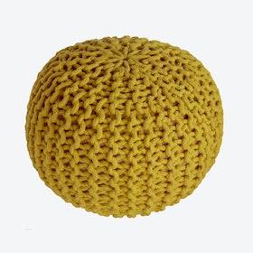 Yellow Lili Pouf