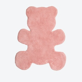 Taupe Little Teddy Rug