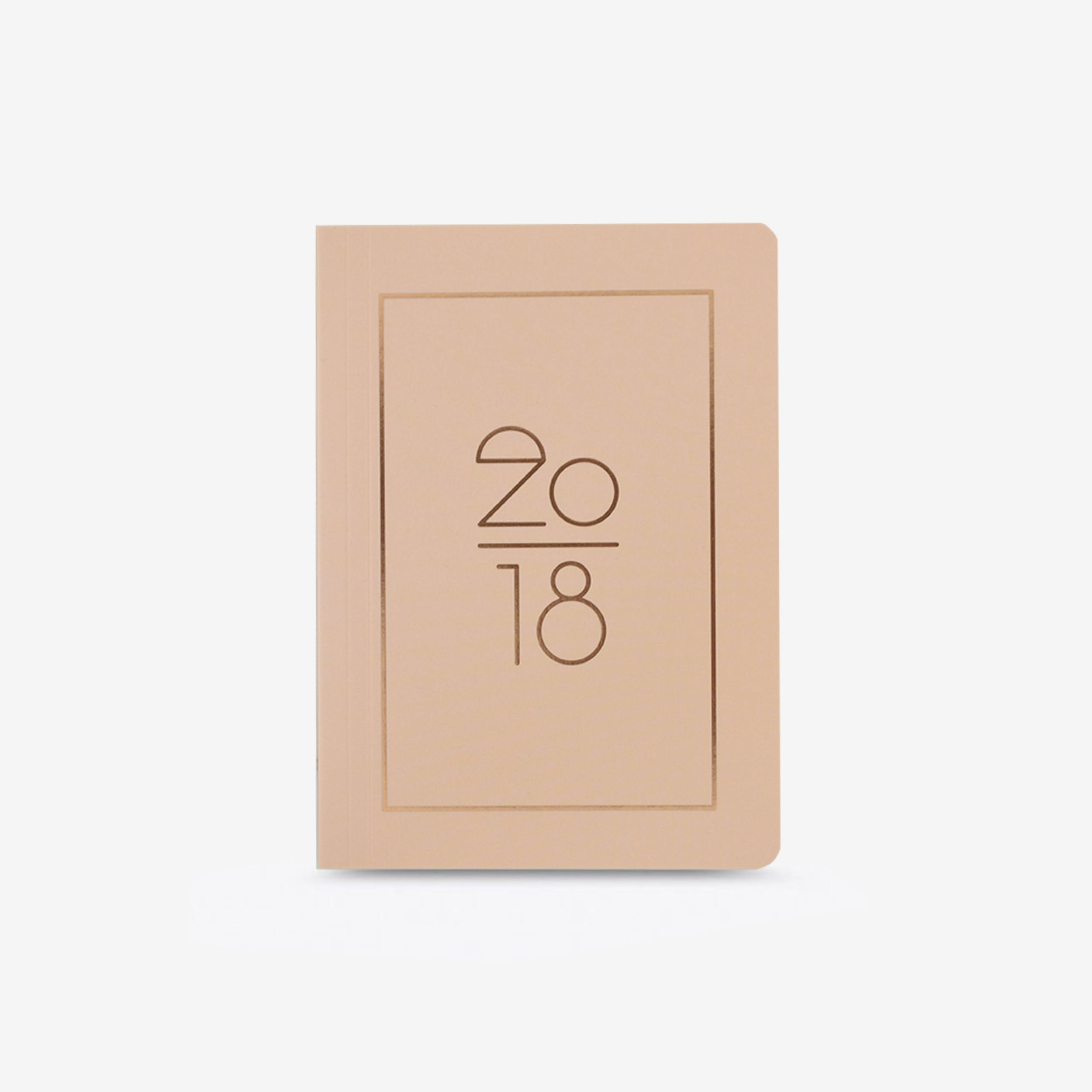 Soft Cover 2018 Planner in Rose