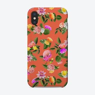 Orange Lady Phone Case