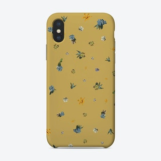 Yellow Orchid Phone Case