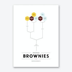 Brownies Art Print