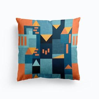 B Klee Yellow Cushion