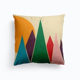 Wondering Solar Mountain  Cushion