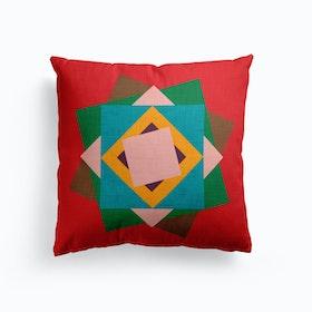 Kilim Flower   Cushion