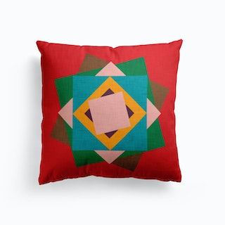 Kilim Flower   Cushion