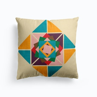 Wind Rose Beige  Cushion