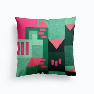 B Klee Green   Cushion
