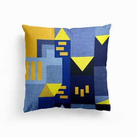 B Klee Blue  Cushion