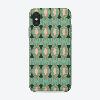 Celtic Ogee Forest   Phone Case