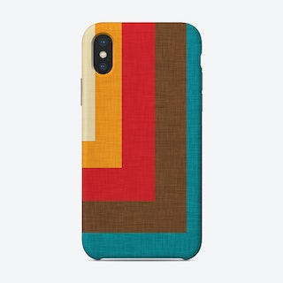 Abstract Mod Cube Beige  Phone Case