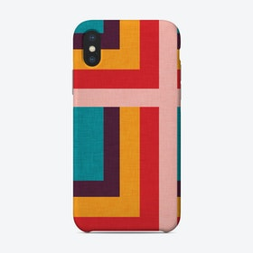 Abstract Mod Cubes  M  Phone Case