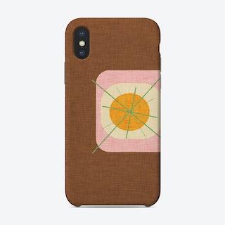 Flower Egg Brown   Phone Case