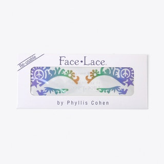 Dovechild Festival Face Lace Rainbow