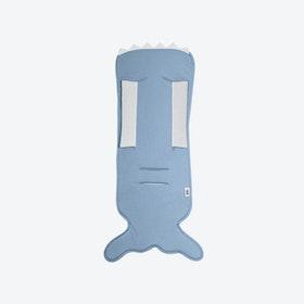 Slate Blue Fishtail Pushchair Mat