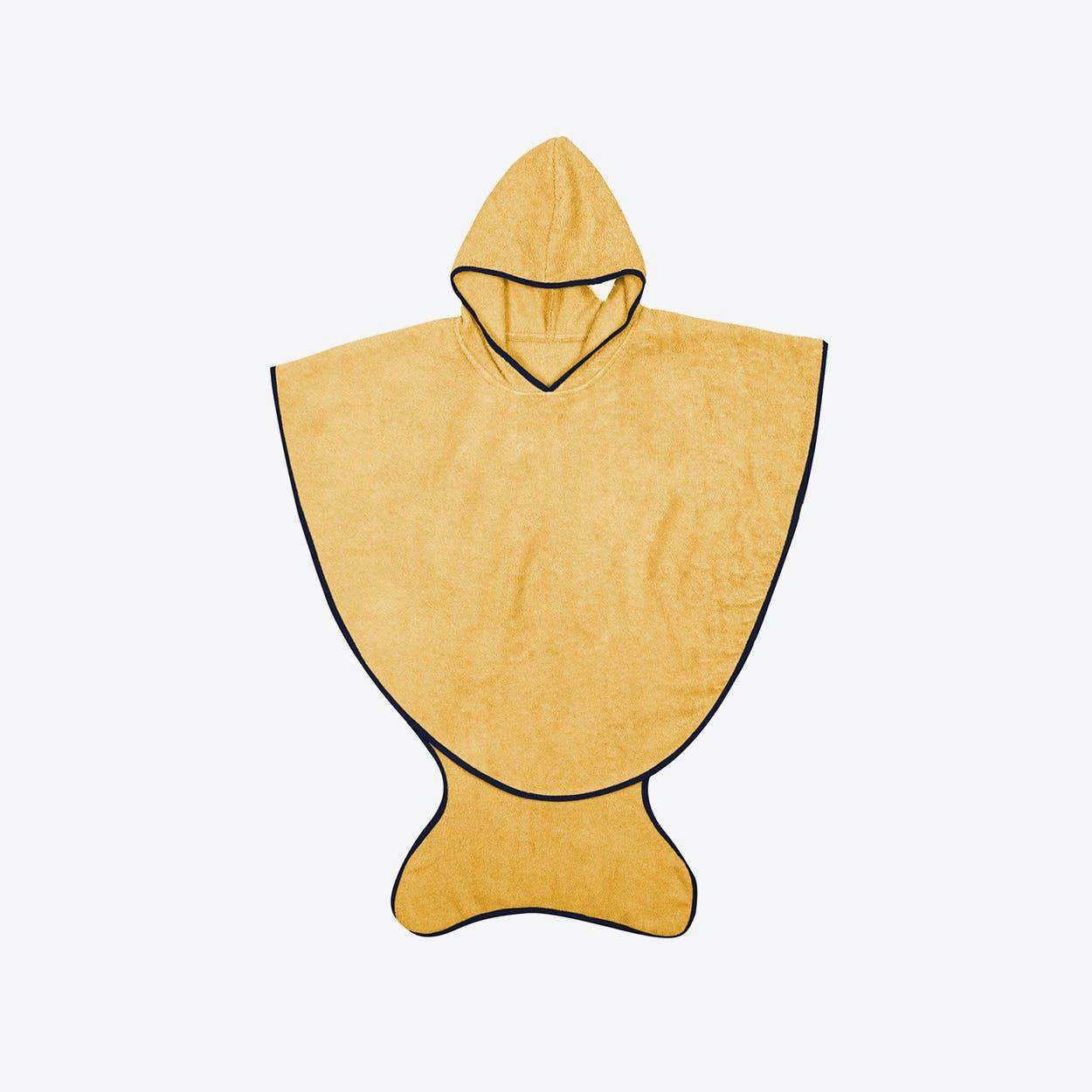 Mustard Fishtail Bath Towel