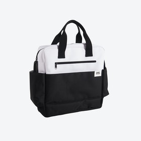 White & Black Waterproof Pushchair Bag