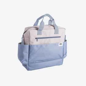 Grey & Blue Waterproof Pushchair Bag