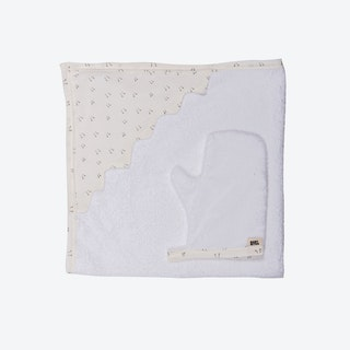 Chick Feet Newborn Towel