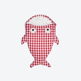 Red Vichy Strawberries Sleeping Bag