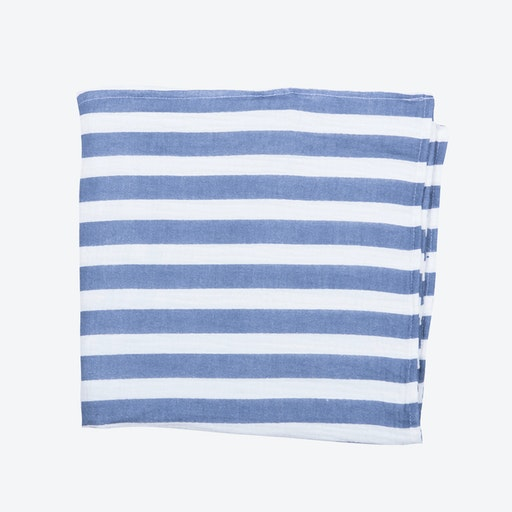Blue Stripes Muslin
