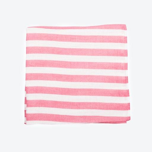 Pink Stripes Muslin