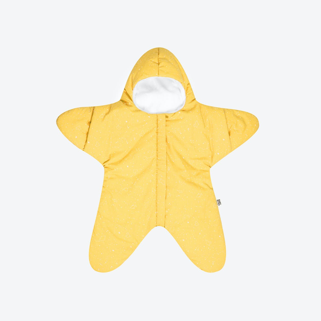 Yellow Star Fleece Wrap
