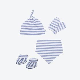 Newborn Pack - Blue Stripes